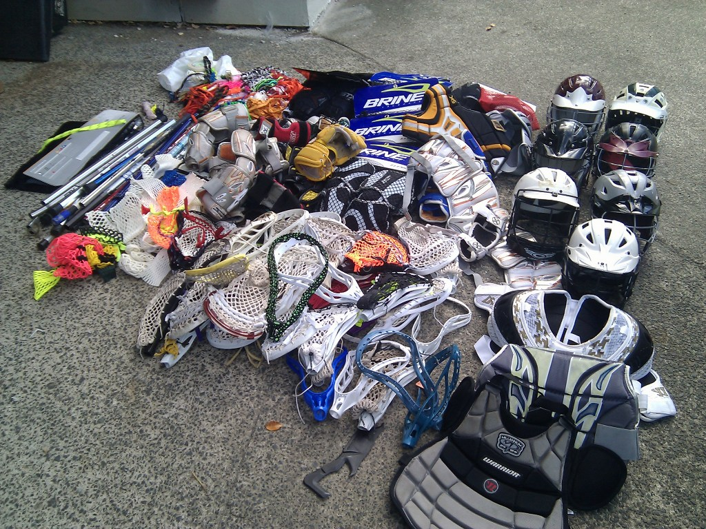 Colorado Lacrosse and Donation to North Shore Auckland New Zealand